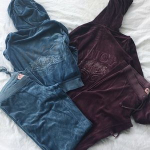 2 juicy couture tracksuits